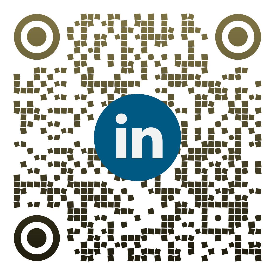 My LinkedIn qr code Address, Amin Monfared.